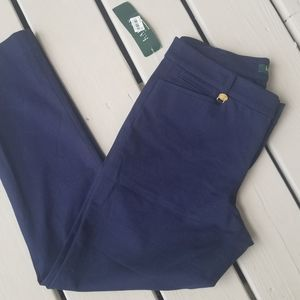 NWT Ralph Lauren 8p Navy pants